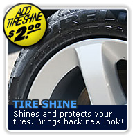 Tire Shine - Protects and Shines!